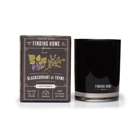 Finding Home Farms Soy Candle - Blackcurrant & Thyme