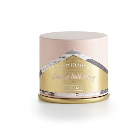 Coconut Mango Demi Vanity Tin Candle