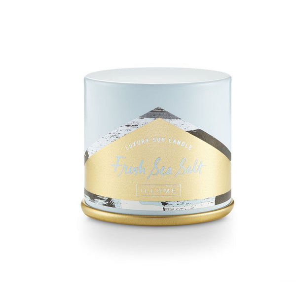 Fresh Sea Salt Demi Vanity Tin Candle
