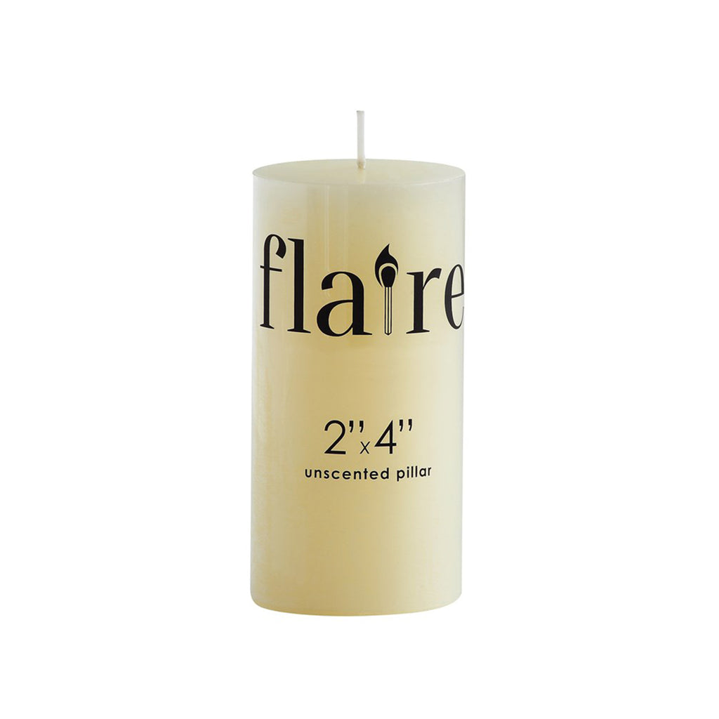 Unscented Pillar Candle - 2