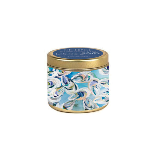 Kim Hovell Candle Collection - 3 oz - Vibrant Shells