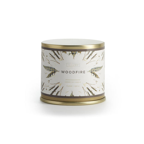 Woodfire  Demi Vanity Tin Candle