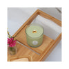 Seeking Balance 6.5 oz  Spa Candle in use