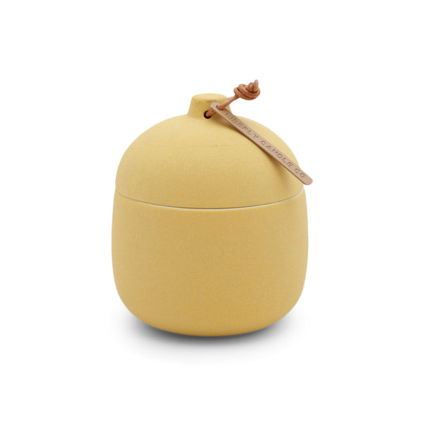 Keepsake Ceramic Canister Candle - Lemon Hibiscus 4 oz