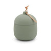 Keepsake Ceramic Canister Candle - Fresh Cut Basil 4 oz