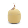 Keepsake Ceramic Canister Candle - Lemon Hibiscus 12 oz