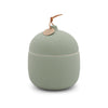 Keepsake Ceramic Canister Candle - Fresh Cut Basil 12 oz