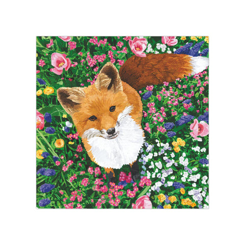 Garden Fox Beverage Napkins