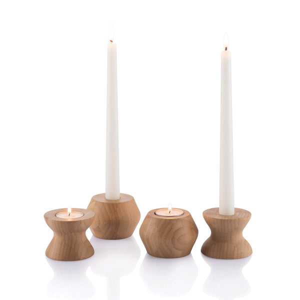 Reversible Candleholders - Thick