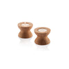 Reversible Candleholders - Thin with Tealights