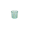 Berry Branch Votive Holder - Blue