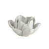 Lotus Tealight Holder - White