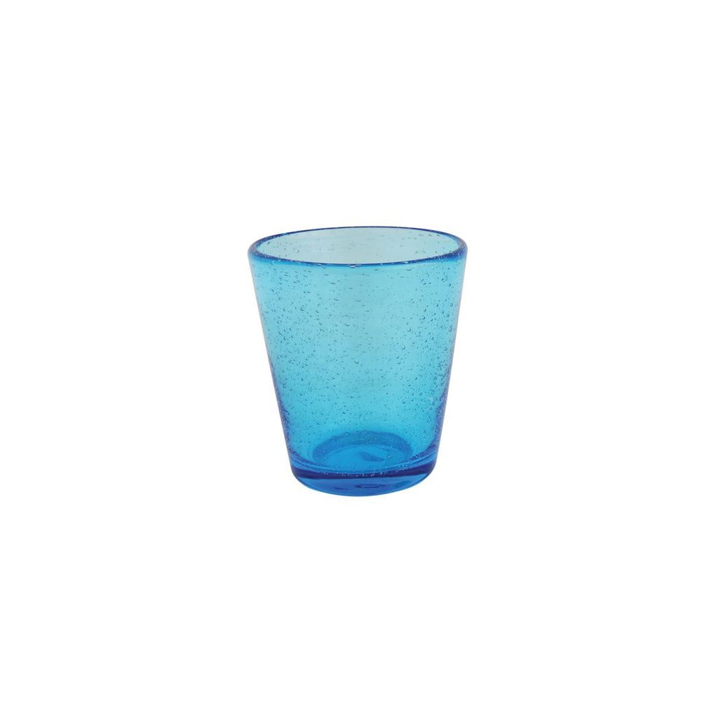 Bubble Drinking Glass - Turquoise