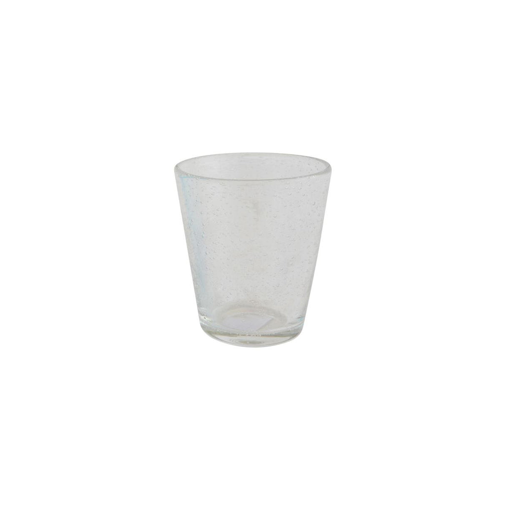 Bubble Drinking Glass - Clear