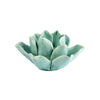 Lotus Tealight Holder - Teal
