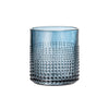 Embossed Dotty Tumblers - Blue Grey