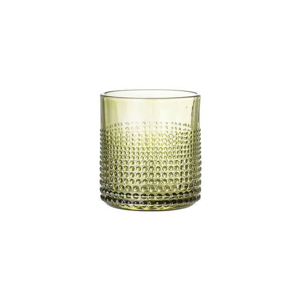 Embossed Dotty Tumbler - Green