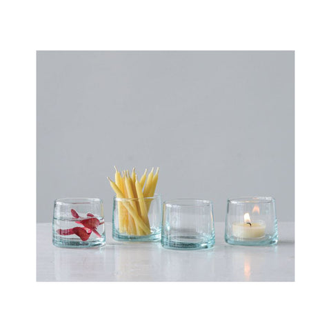 Hand-Blown Shot Glass/Tealight