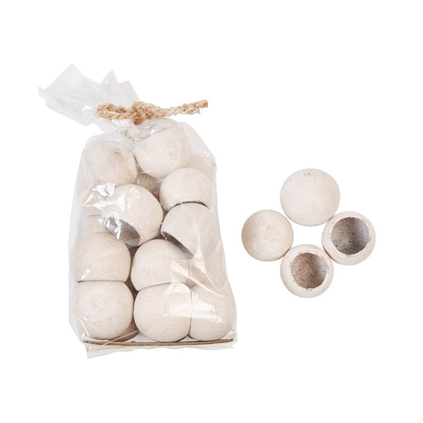 Dried Natural Bell Cups - Bagged