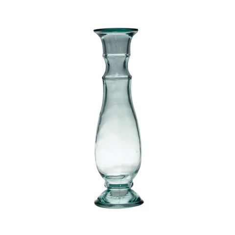 Recycled Glass Candleholder - 15.75
