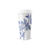 Porcelain Travel Mug - Blue Arbor