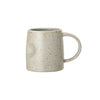 Reactive Glaze Stoneware Mug - Stone - side view