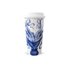 Porcelain Travel Mug - Blue Lucy