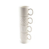 Coffee & More Espresso Cups Set of 4 - stacked