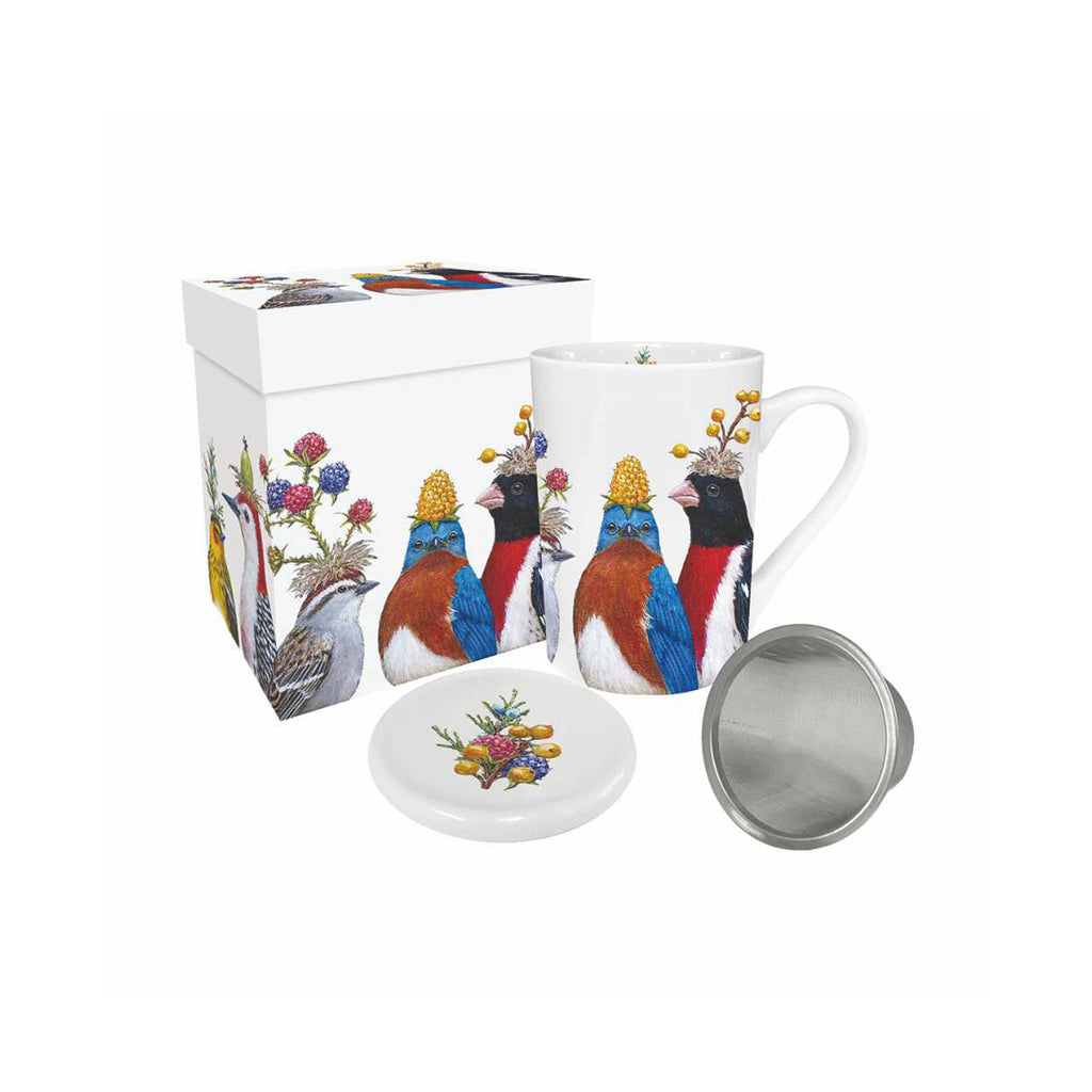 Vicki Sawyer Tea Mug Set - Berry Festival