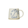 Hand-painted Sea Life Mug - Crab