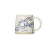 Hand-painted Sea Life Mug - Lobster