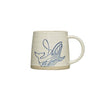 Hand-painted Sea Life Mug - Whale