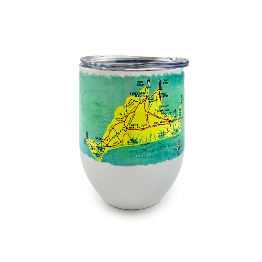 Wine Tumbler - Martha's Vineyard