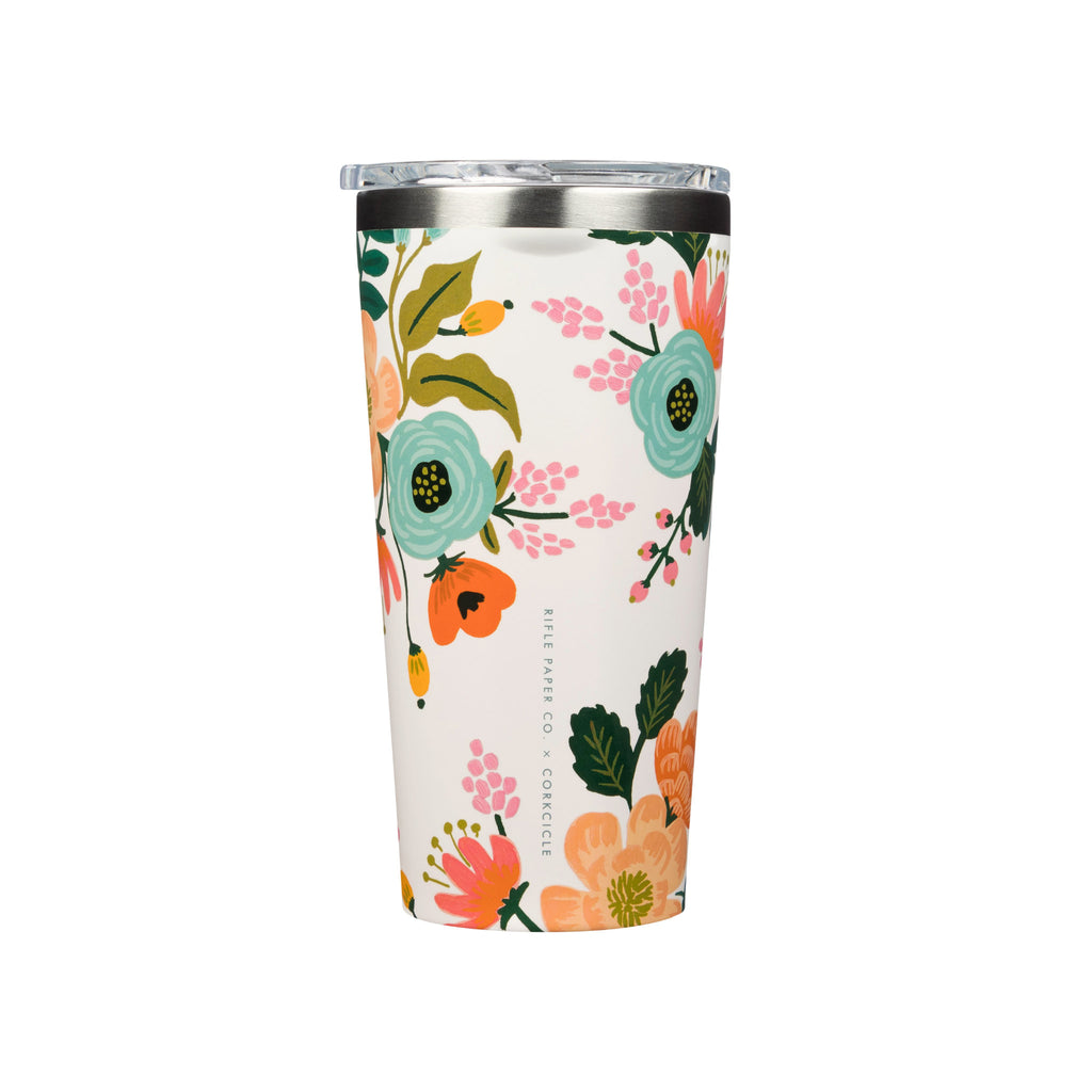 Corkcicle Tumbler - Cream Lively Floral