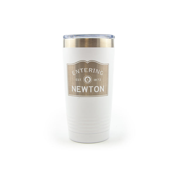 Polar Camel Insulated 20 oz Tumbler - Entering Newton