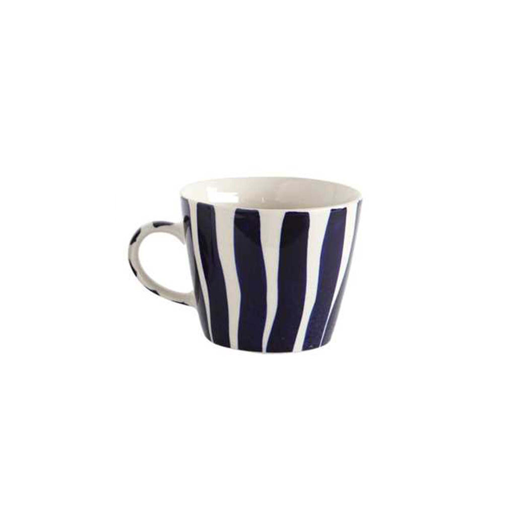Stoneware Mug - Stripes