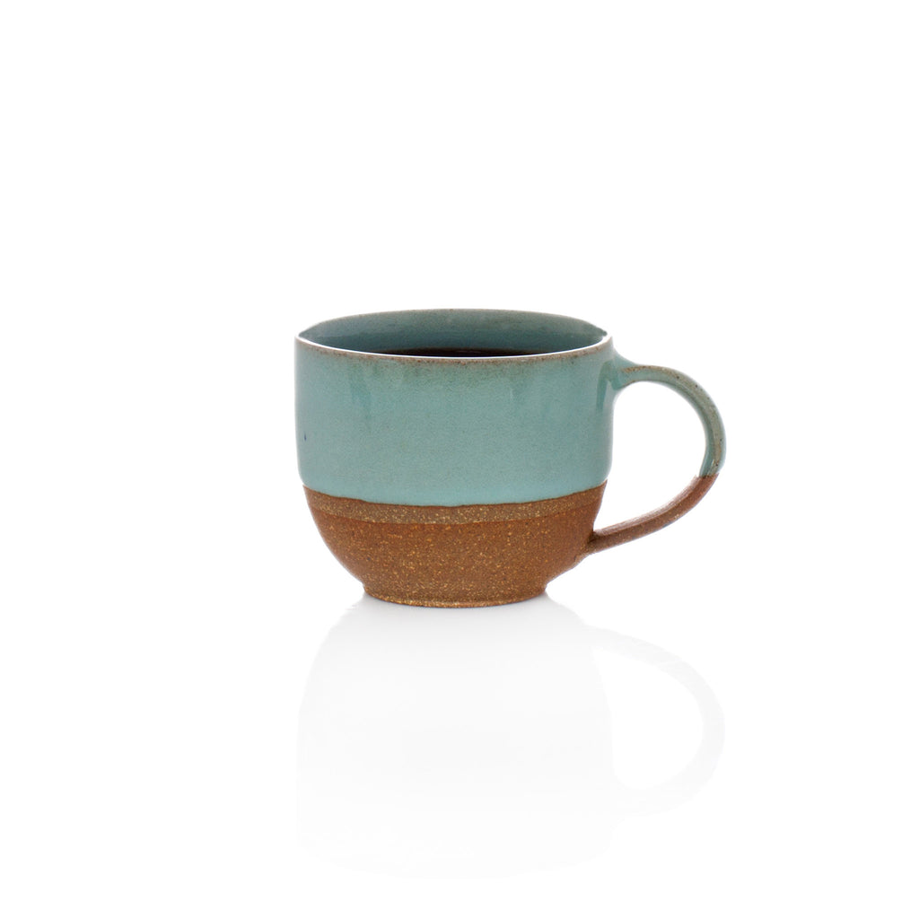 Terracotta Clay Small Mug - Blue