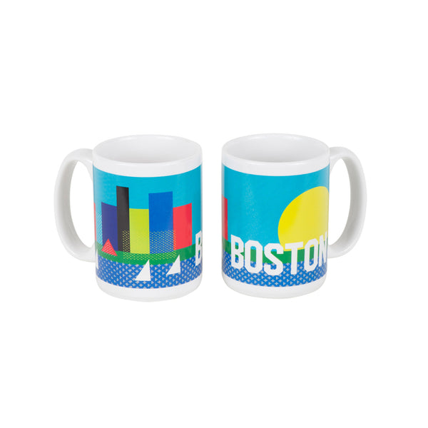 Boston Mug - side views