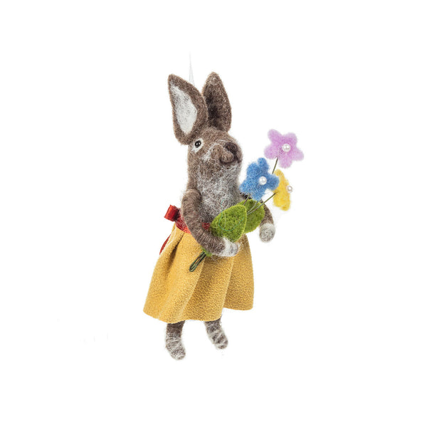 Springtime Ornament - Rabbit