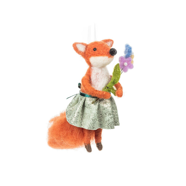 Springtime Ornament - Fox