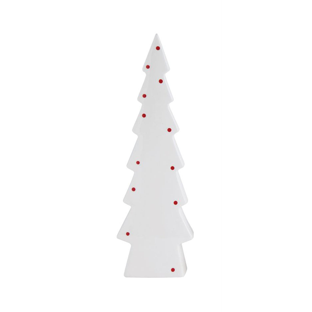 Dotted Stoneware Christmas Tree