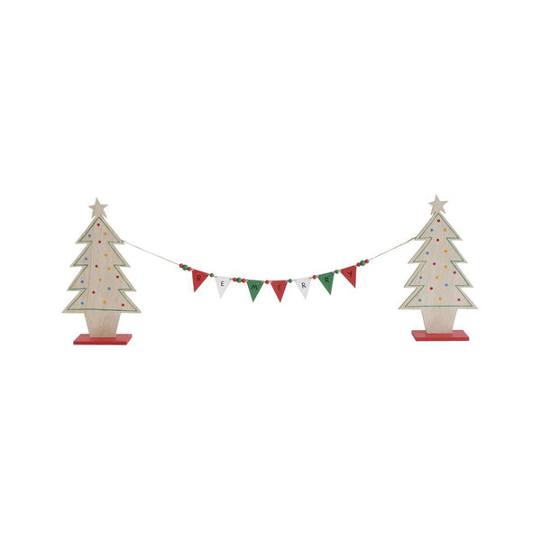 Be Merry Tree Garland