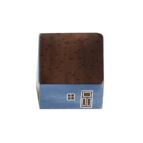 House-shaped Matchboxes - Blue