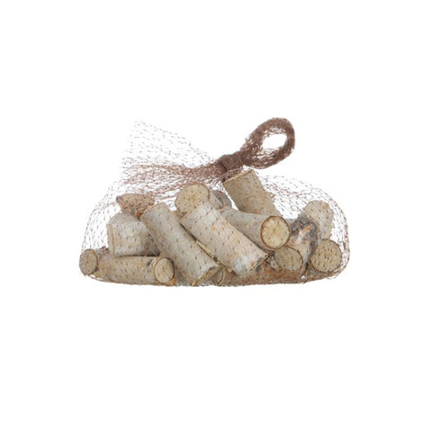 Bagged Decorative Birch Pieces - Light