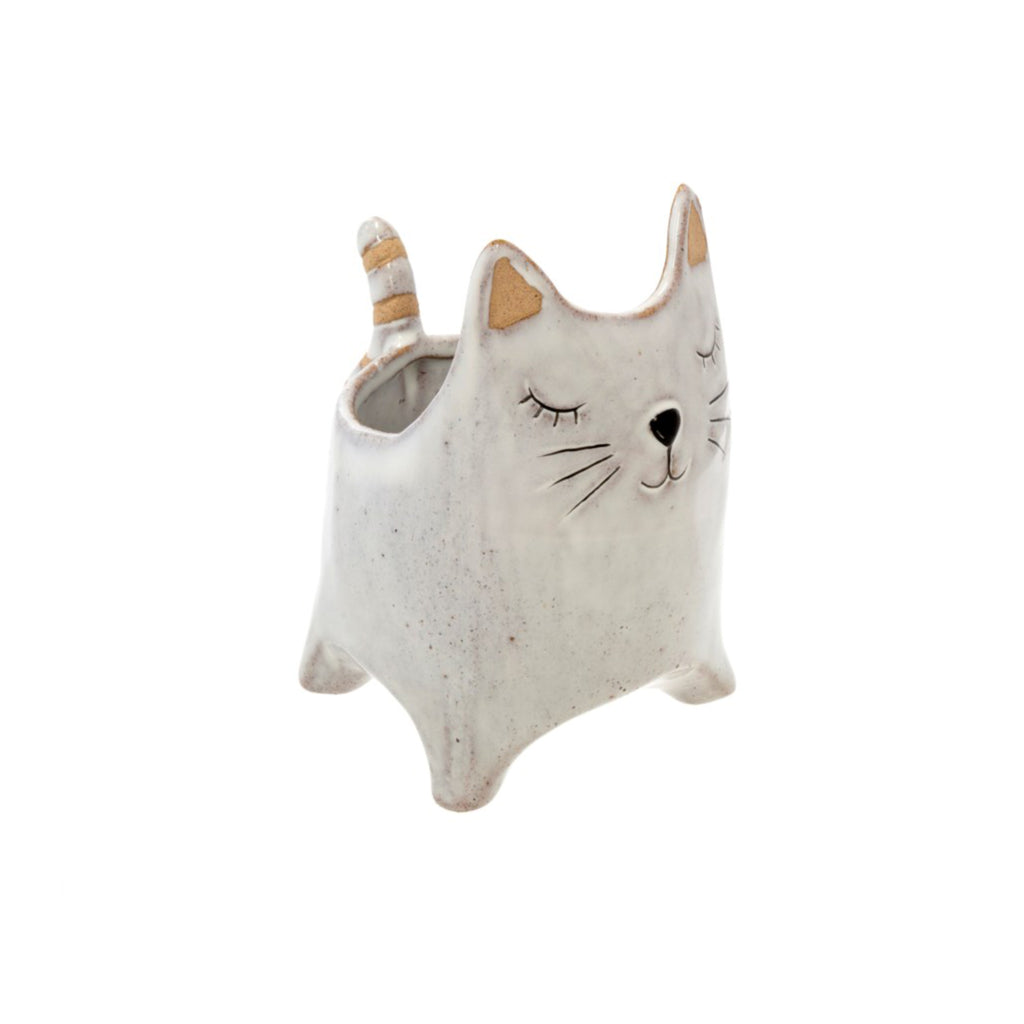Here Kitty Planter Pot