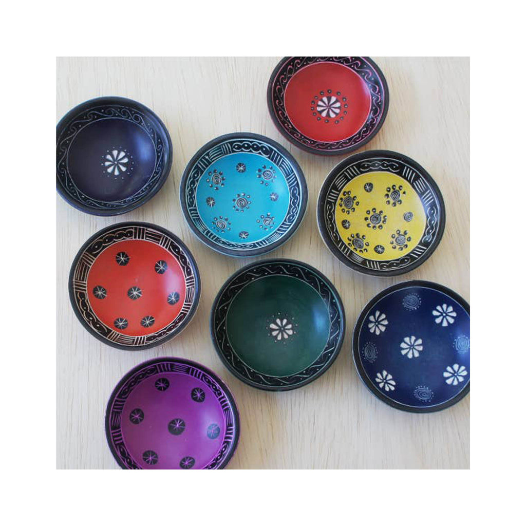 Soapstone Pattern Trinket Dishes