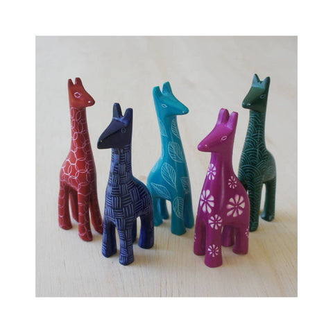 Mini Soapstone Jungle Animal - Giraffe