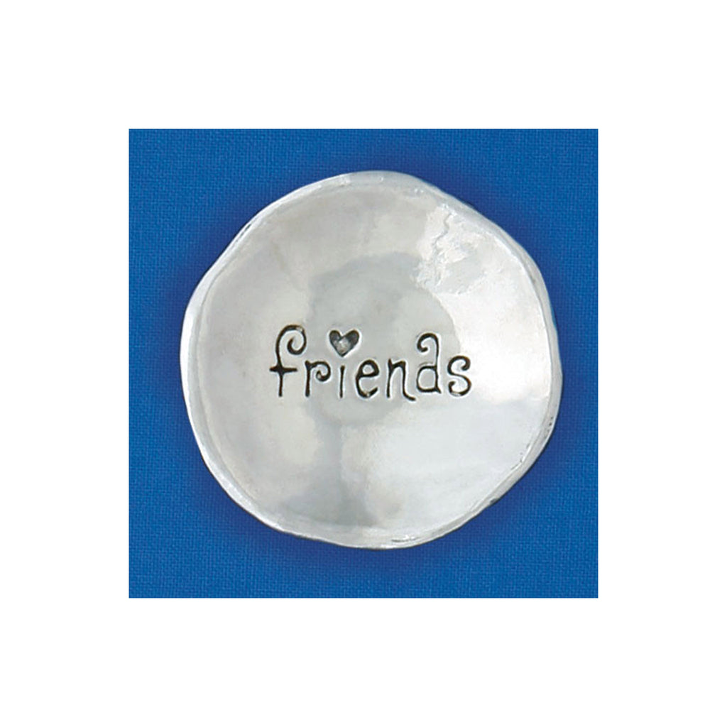 Small Pewter Charm Bowl - Friends