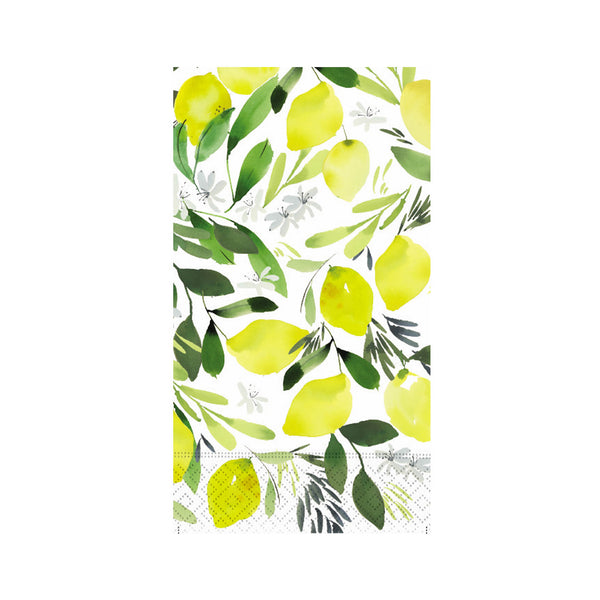 Lemon Blossom Guest Towels
