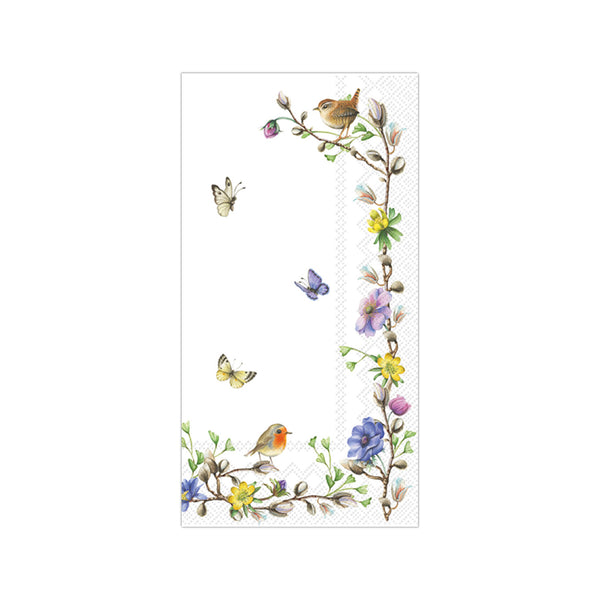 Springtime Flowers Guest Towels